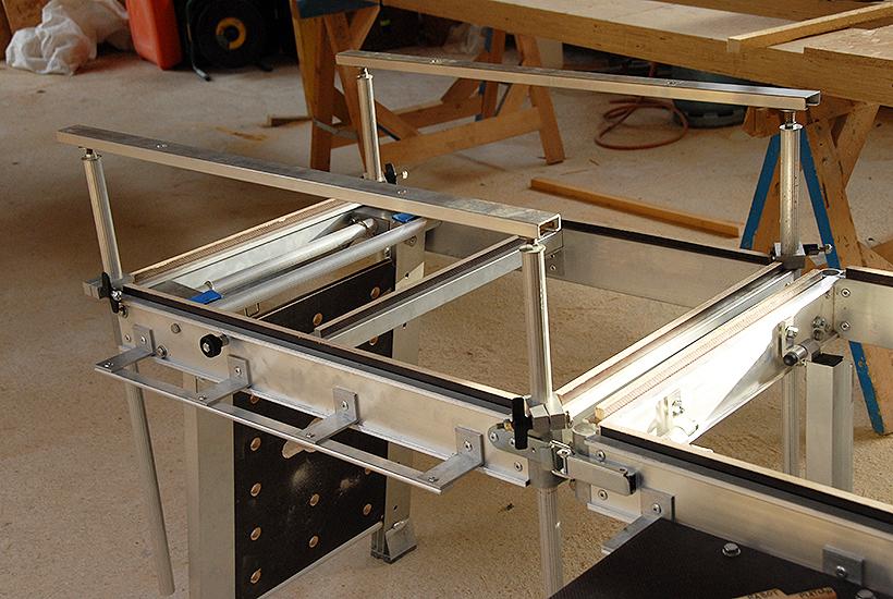 Kit Confort - Positionnement des servantes dans le sens de la longueur