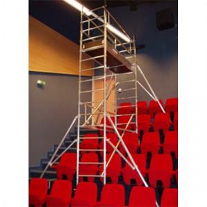 Échafaudage roulant Ecopro ECS - Monté sur escalier