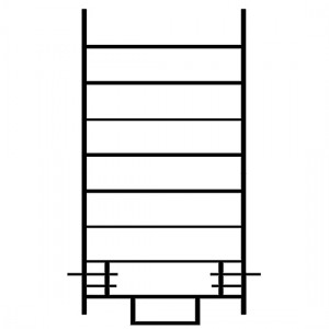 Échelle standard de 2 mètres - ECOPRO ECS   EC 200 S