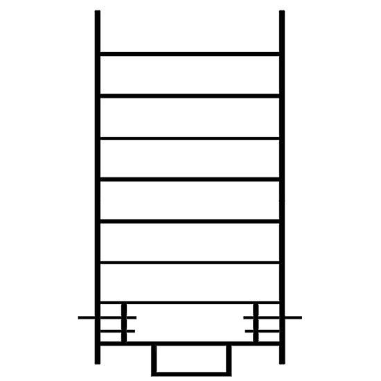 Échelle standard de 2 mètres - ECOPRO ECS | EC 200 S